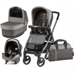 Коляска 3в1 Peg-Perego Book 51 S Titania Pop Up Modular Class Grey