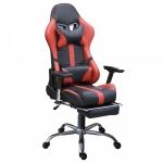 Кресло игровое Zeta Strike Turbo, красно-черный